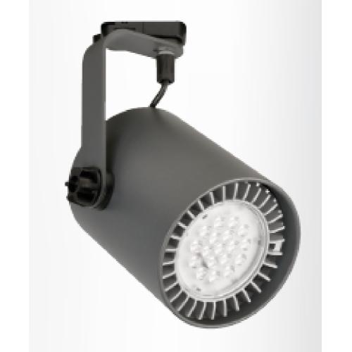 DEOS svit.tracklight.LED L-135 1x23W 3000K IP20 ; 40° bílá vc.COIN111 AC