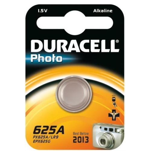 DURACELL baterie alkalická foto. 625A/LR9 ; BL1
