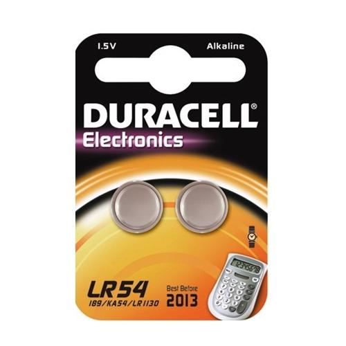 DURACELL baterie alkalická LR54 ; BL2