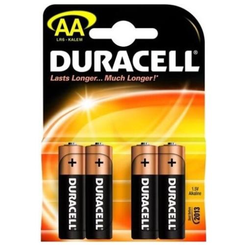 DURACELL  baterie alkalická SIMPLY AA/LR6/MN1500 ; BL4