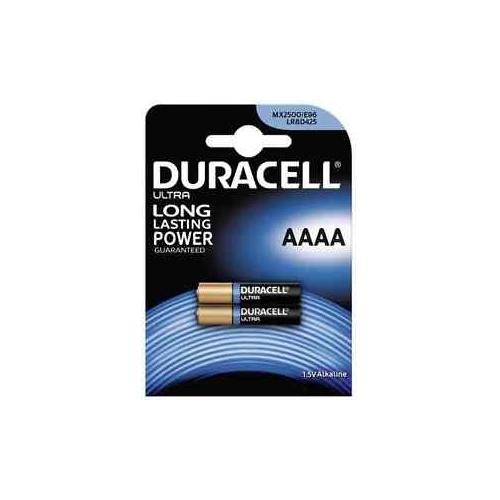 DURACELL baterie alkalická ULTRA  AAAA/LR8D425/MX2500 ; BL2