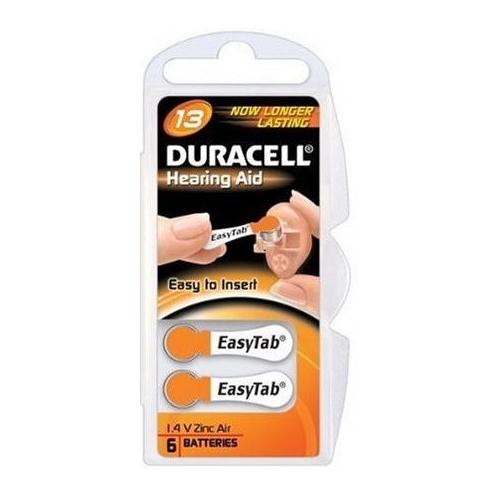 DURACELL baterie do naslouchadel 13 Easy Tab 6ks