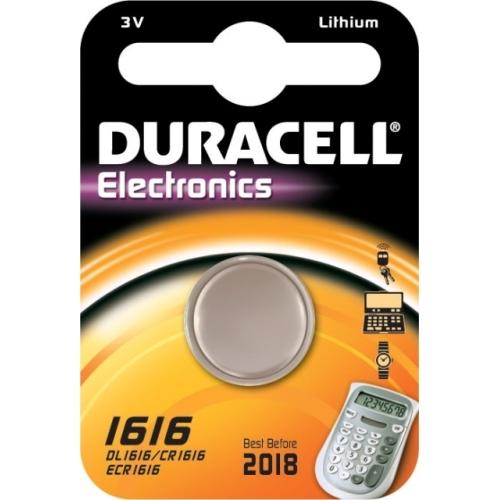 DURACELL baterie lithiová CR1616/DL1616 ; BL1