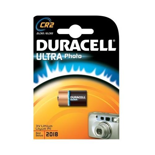 DURACELL baterie lithiová foto. ULTRA CR2/CR15H270 ; BL1