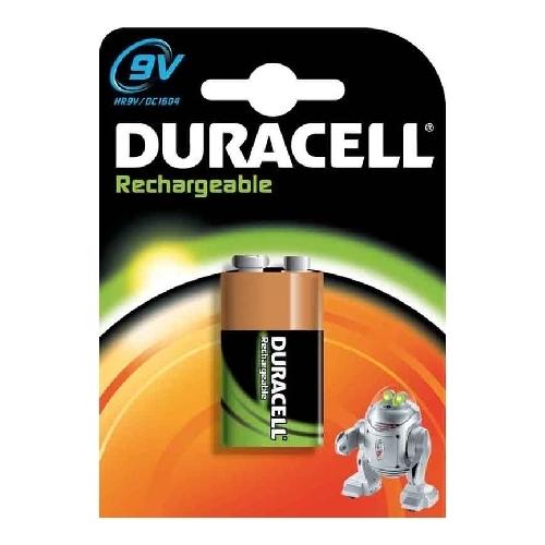 DURACELL baterie nabíjecí 170mAh 9V/HR9V ; BL1
