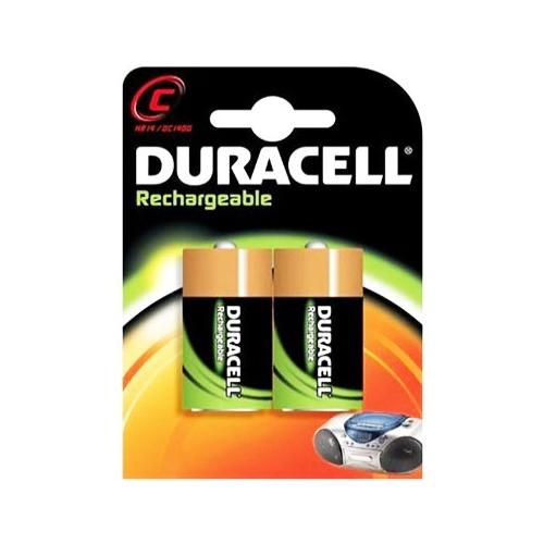 DURACELL  baterie nabíjecí  2200mAh C/HR14 ; BL2