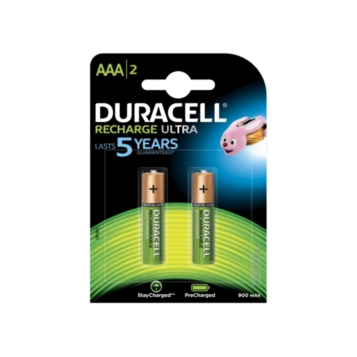 DURACELL baterie nabíjecí STAY.CHARGED 850mAh AAA/HR03 ; BL2