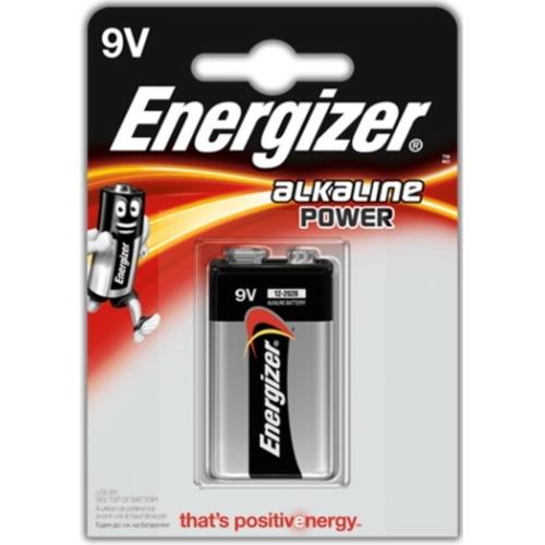 ENERGIZER baterie alkalická ALKALINE.POWER 9V/6LR61 ; BL1