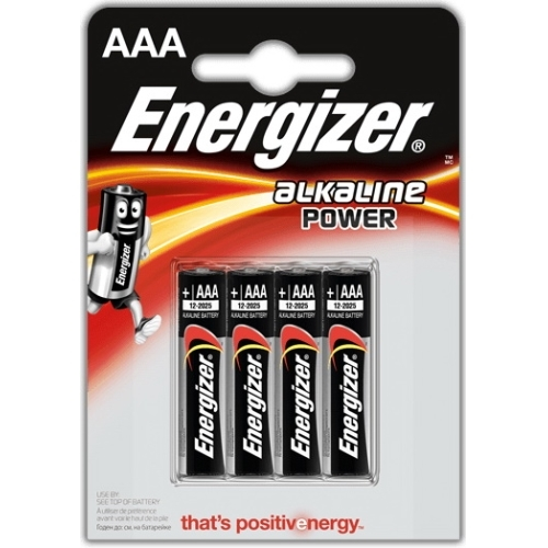 ENERGIZER baterie alkalická ALKALINE.POWER AAA/LR03 ; BL4