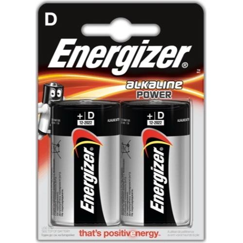 ENERGIZER baterie alkalická ALKALINE.POWER D/LR20 ; BL2