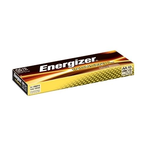 ENERGIZER baterie alkalická INDUSTRIAL AA/LR06 ; 10-Pack