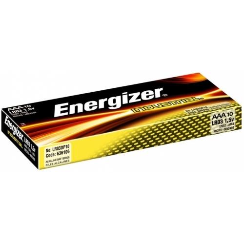 ENERGIZER baterie alkalická INDUSTRIAL AAA/LR03 ; 10-Pack