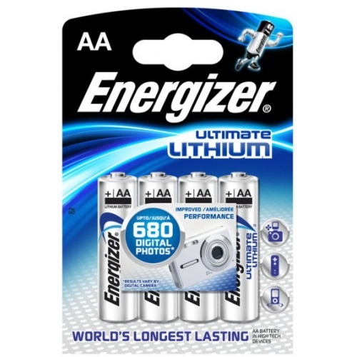 ENERGIZER baterie lithiová ULTIMATE.LITHIUM AA/FR6/L91 ; BL4