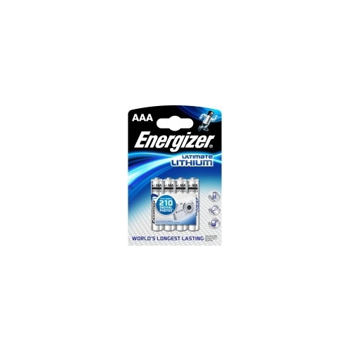 ENERGIZER baterie lithiová ULTIMATE.LITHIUM AAA/FR03/L92 ; BL4