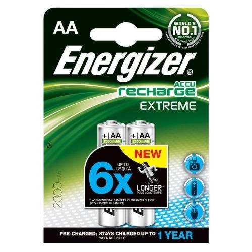 ENERGIZER baterie nabíjecí EXTREME 2300mAh AA/HR6 ; BL2