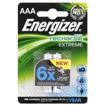 ENERGIZER baterie nabíjecí EXTREME 800mAh AAA/HR03 ; BL2