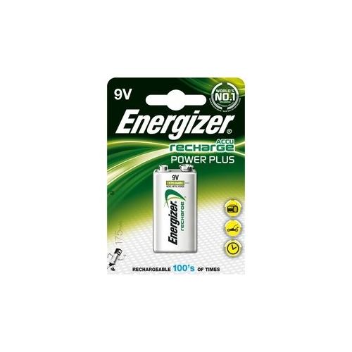 ENERGIZER baterie nabíjecí POWER.PLUS 175mAh 9V/HR22 ; BL1