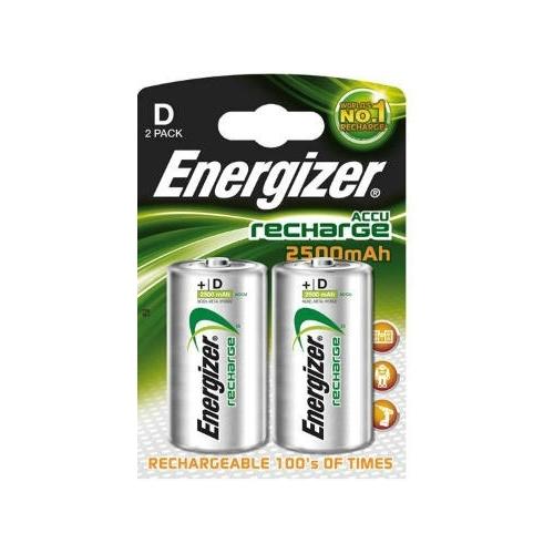 ENERGIZER baterie nabíjecí POWER.PLUS 2500mAh D/HR20 ; BL2