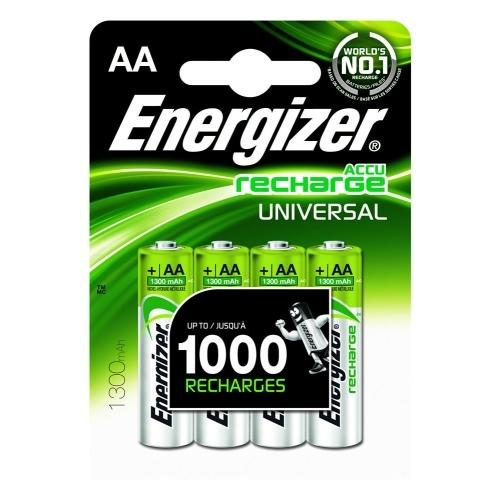 ENERGIZER baterie nabíjecí UNIVERSAL 1300mAh AA/HR6 ; BL4
