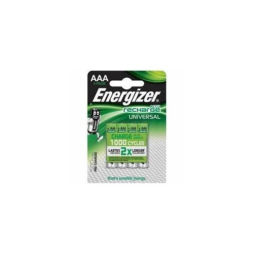 ENERGIZER baterie nabíjecí UNIVERSAL 500mAh AAA/HR03 ; BL4