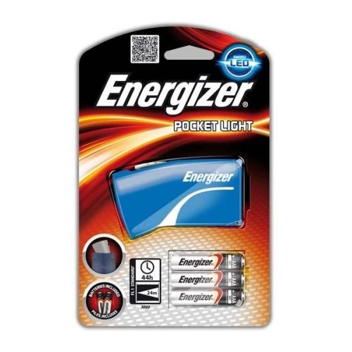 ENERGIZER svítilna PocketLight 3xAAA 24m ; +3xAAA