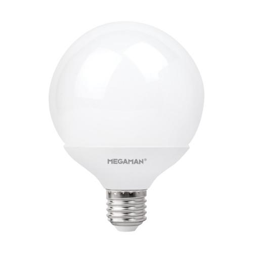 MEGAMAN LED globe G95 11W/75W E27 2800K 1055lm NonDim 15Y opal