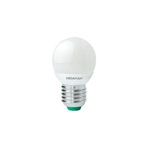 MEGAMAN LED lustre P45 3.5W/25W E27 2800K 250lm NonDim 15Y opal