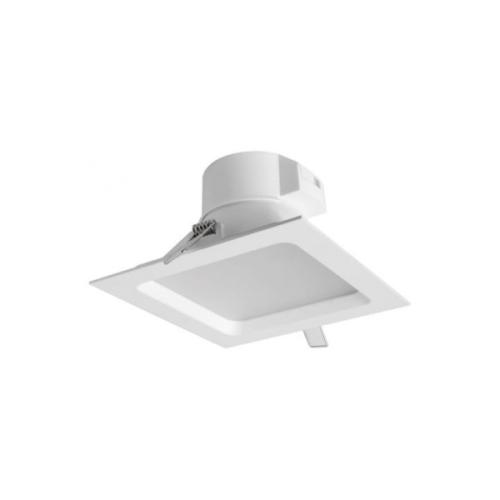 MEGAMAN svit.downlight.LED SIENA 12.5W 950lm/828 IP44 25Y;bílá 145x145mm