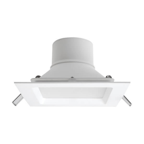 MEGAMAN svit.downlight.LED SIENA 12.5W 950lm/840 IP44 25Y;bílá 145x145mm