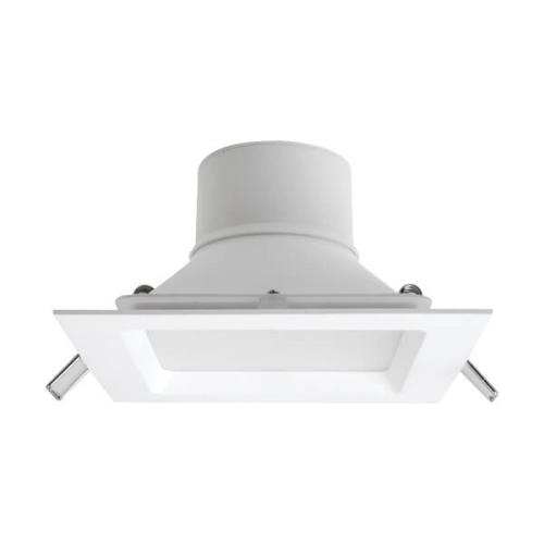 MEGAMAN svit.downlight.LED SIENA 12.5W 950lm/840 IP44 25Y;bílá 145x145mm