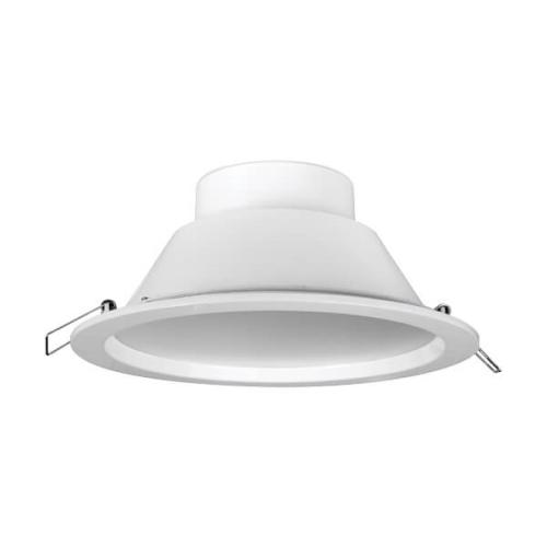 MEGAMAN svit.downlight.LED SIENA 35.5W 2700lm/840 IP44 25Y;bila prum.225mm