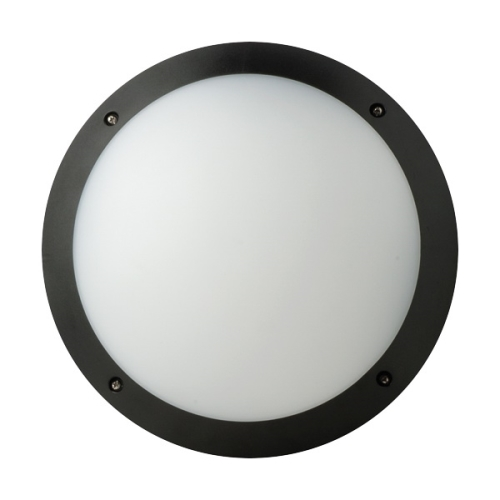 MEGAMAN svit.prisaz.LED FONDA 10.5W 800lm/840 IP66 25Y;černá prum.298mm