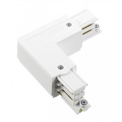 NORD.ALUM napajec/konektor.tvar-L XTS34-3 vnitrni k GlobalTrac ; bílá