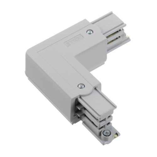 NORD.ALUM napajec/konektor.tvar-L XTS35-1 vnejsi k GlobalTrac ; seda
