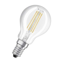 OSRAM LED VALUE filam.lustre P45  4W/40W E14 4000K 470lm NonDim 10Y