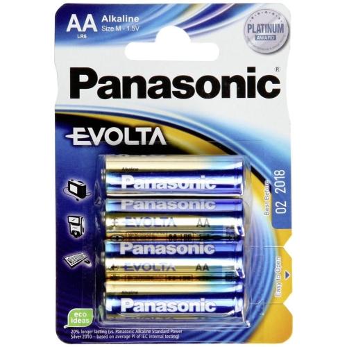 PANASONIC baterie alkalická EVOLTA AA/LR6 ; BL4