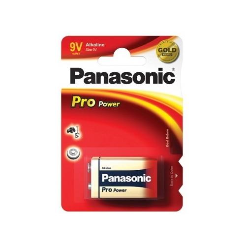PANASONIC baterie alkalická PRO.POWER 9V/6LR61 ; BL1
