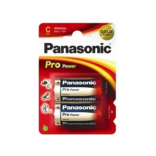 PANASONIC baterie alkalická PRO.POWER C/LR14 ; BL2