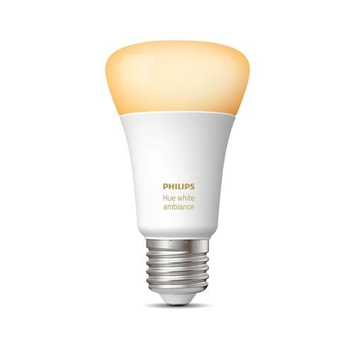 PHILIPS HUE AMBIANCE LED bulb A60 9.5W/60W 2200-6500K 806lm Dim 25Y