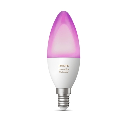 PHILIPS HUE LED candle B39 6.5W 2200-6500K/RGB Dim