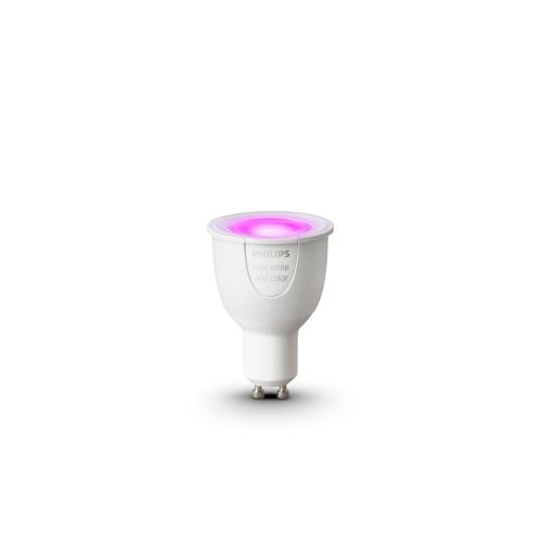 PHILIPS HUE LED reflector PAR16 6.5W GU10 RGB 250lm Dim 25Y