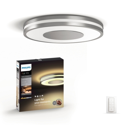 PHILIPS HUE svit.prisaz.LED Being 32W 2400lm/WH  IP20 ; hlinik