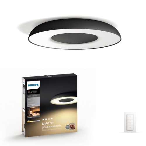 PHILIPS HUE svit.prisaz.LED Still 32W 2400lm/WH  IP20 ; cerna
