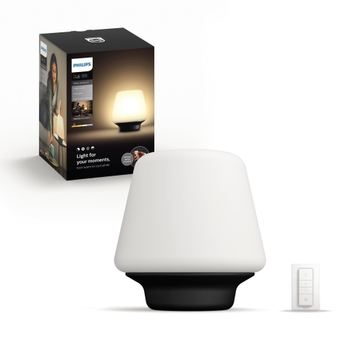 PHILIPS HUE svit.stol.LED Wellness 1x9.5W 806lm IP20 ; cerna +switch