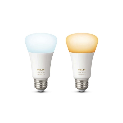 PHILIPS HUE W.AMBIANCE LED bulb A60 9.5W/60W 2200-6500K 806lm Dim set-2ks