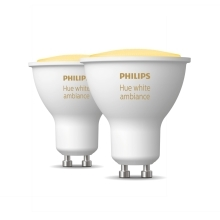 PHILIPS HUE W.AMBIANCE LED reflector PAR16 5W GU10 2200-6500K Dim EU set-2ks