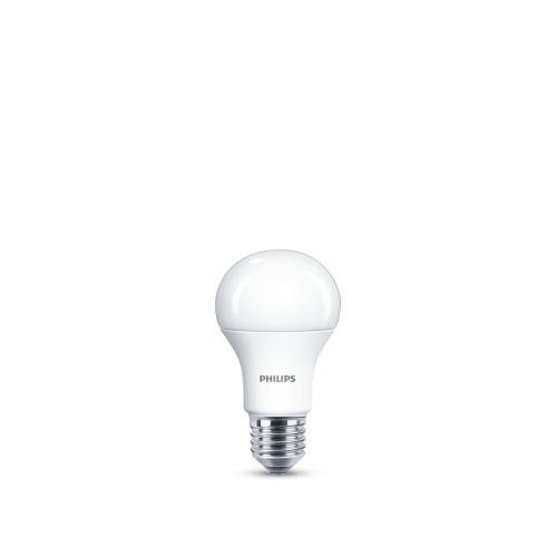 PHILIPS LED bulb A60 10W/75W E27 4000K 1055lm NonDim 15Y opal BL