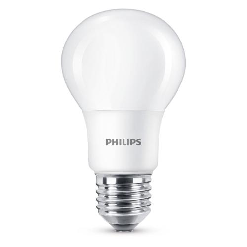 PHILIPS LED bulb A60 5W/40W E27 6500K 470lm NonDim 15Y opal BL
