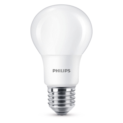 PHILIPS LED bulb A60 7.5W/60W E27 4000K 806lm NonDim 15Y opal BL