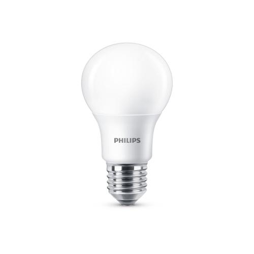 PHILIPS LED bulb A60 8.5W/60W E27 2700K 806lm Dim 15Y opal BL